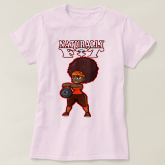 NATURALLY FIT KETTLE BELL T-Shirt