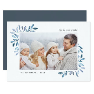 Naturally Joyful | Holiday Photo Card