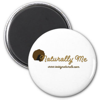 Naturally Me 2 Inch Round Magnet