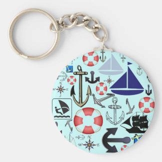 Naturally Nautical Key Chains