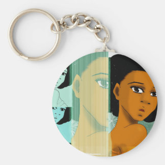 Naturally Teal Key Chain