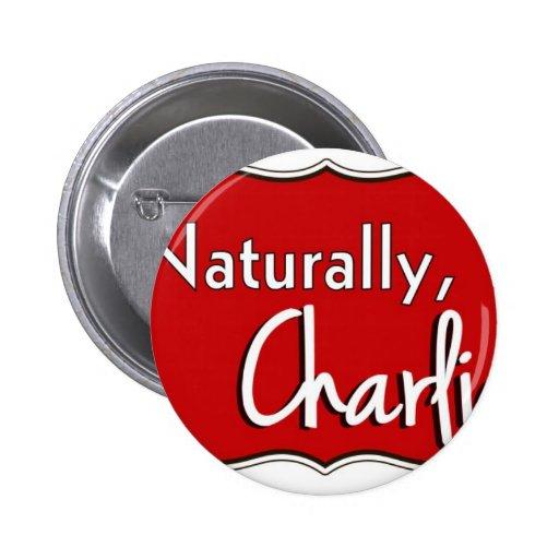 Naturalmente, logotipo 1 de Charlie Pins