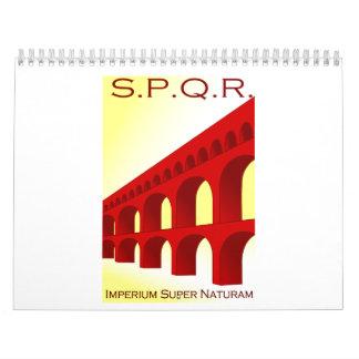 Naturam estupendo del Imperium Calendario