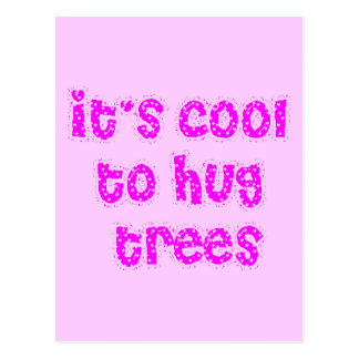 nature28 environmentally friendly trees cool hug postcards