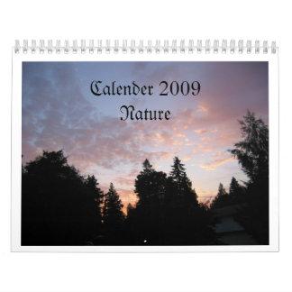 Nature 09 Calendar