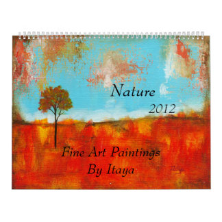 Nature 2012 Huge Calendar Fine Art Paintings