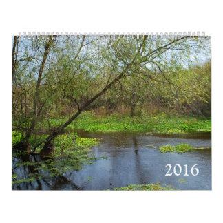 Nature 2016 calendar