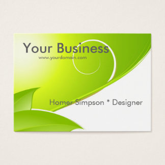 Green background business cards templates zazzle nature abstract business card reheart Image collections
