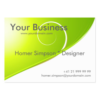 Nature Abstract Business Card
