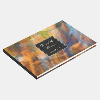 Nature Abstract Guest Book