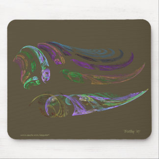 NATURE ABSTRACT MOUSE PAD