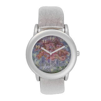 Nature abstract pattern wristwatch