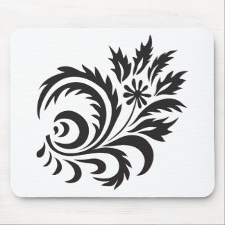 nature, abstract, trees, foliage , grung, daisy mouse pad