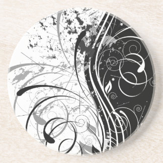 nature, abstract, trees, foliage , grung drink coaster