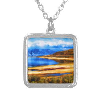 nature and beauty    great salt lake utah landscap custom jewelry