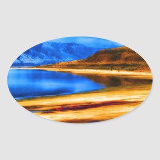 nature and beauty    great salt lake utah landscap stickers