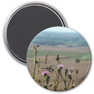 Nature and Butterfly Photo Magnet