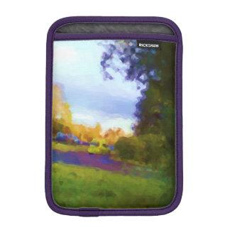 Nature and car photo iPad mini sleeves