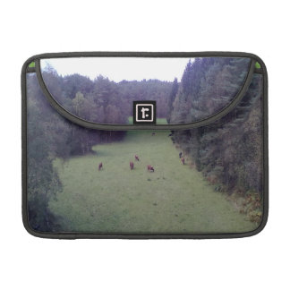 Nature and Cow MacBook Pro Sleeve