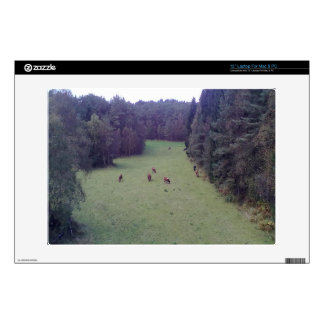 Nature and Cow Laptop Skin