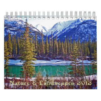 Nature and Landscapes Calendar 2012
