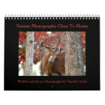 Nature and Wildlife Calendar by Timothy Harris