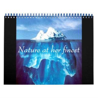 Nature at Her Finest Wall Calendar