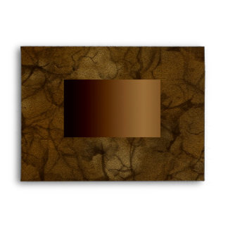 NATURE AUTUMN CAMOUFLAGE Greeting Card Envelope