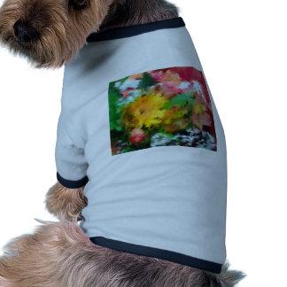 Nature Autumn Flowers Doggie Shirt