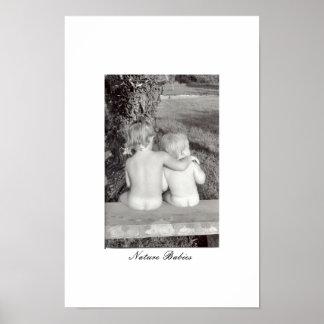 Nature Babies Poster