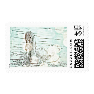 Nature - Baby Gosling Postage