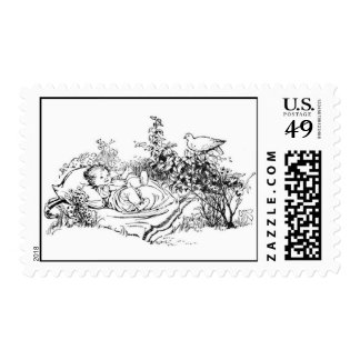 Nature baby postage