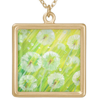 Nature background 2 necklace