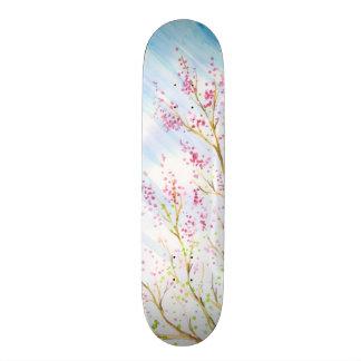 Nature background skateboard deck