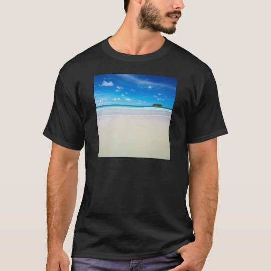 Nature Beach Tropical White Sands T-Shirt