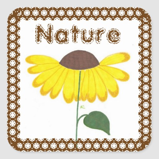 Nature books stickers