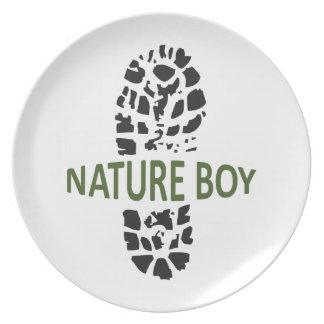 Nature Boy Plate