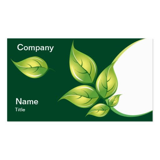 Nature Business Cards (3)