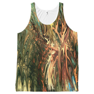 nature by rafi talby All-Over print tank top