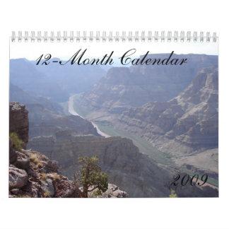 Nature Calendar (12-month 2009)