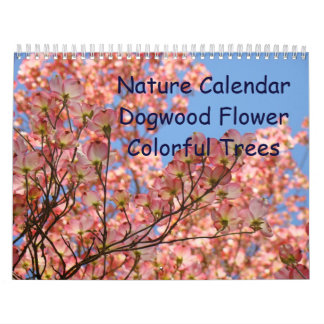 Nature Calendar Dogwood Flower Colorful Trees