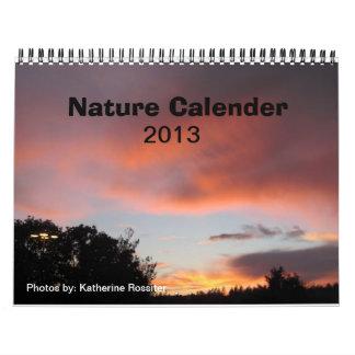 Nature Calender Calendars