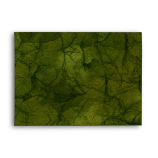 NATURE CAMOUFLAGE Greeting Card Envelope
