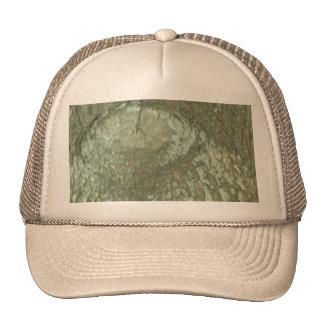 Nature Camouflage Oak Trees Tree Eye Bark Camo Trucker Hat