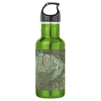 Nature Camouflage Oak Trees Tree Eye Bark Camo Stainless Steel Water Bottle