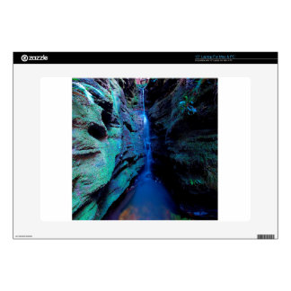 "Nature Canyon Deep River Gorge 15"" Laptop Decals"
