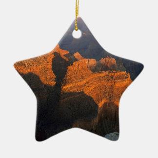 Nature Canyon Sunlight Christmas Ornaments