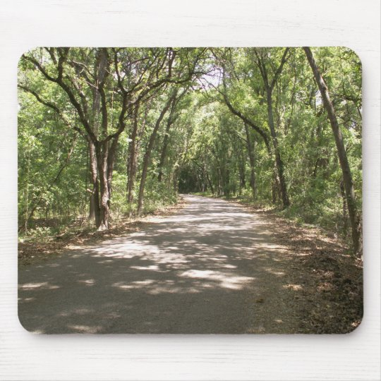 Nature Center pathway Mouse Pad