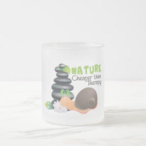 Nature - cheaper then therapy mug