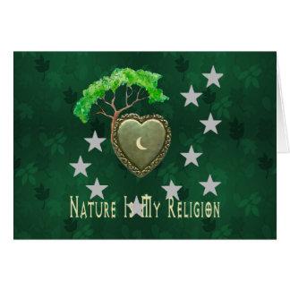 Nature Church Greeting Card